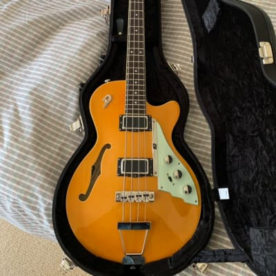 Duesenberg Starplayer Bass 2017 Trans Orange for sale