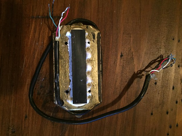 Dimarzio Super Distortion DP100 1976-1978 Brass Base Plate   Reverb
