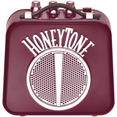 Danelectro Honeytone Mini Amp, Burgundy Finish (N10BU)
