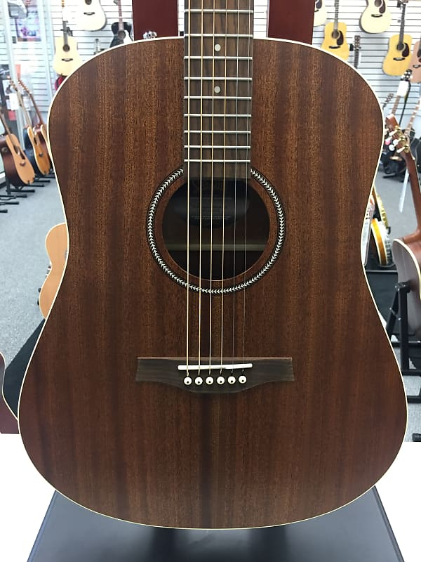 seagull s6 mahogany deluxe acoustic electric guitar reverb. Black Bedroom Furniture Sets. Home Design Ideas