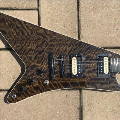 Black Diamond USA The Snake Custom modern Guitar gig used/relic'd Ha for sale