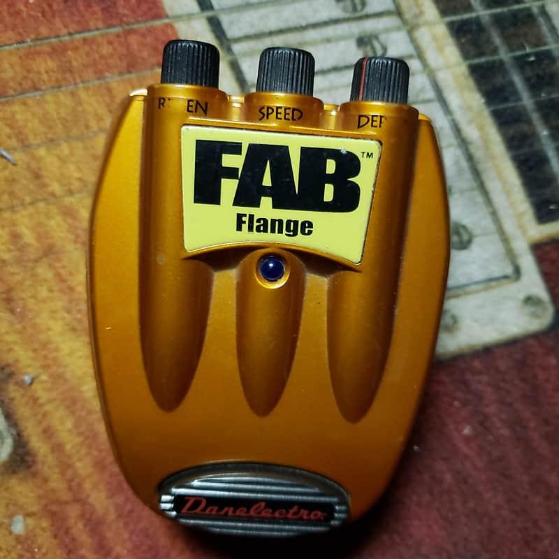 danelectro fab flange electric guitar effects pedal 9v works reverb. Black Bedroom Furniture Sets. Home Design Ideas