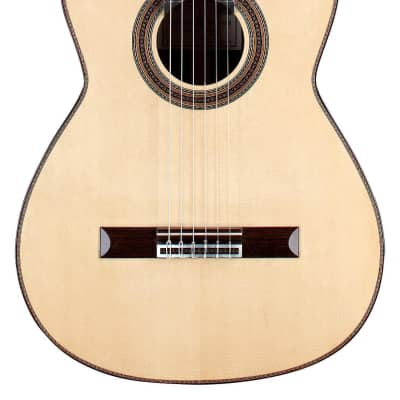 Kenneth Brogger Polycentric Baroque Arch 2019 Classical Guitar Spruce/Indian Rosewood for sale