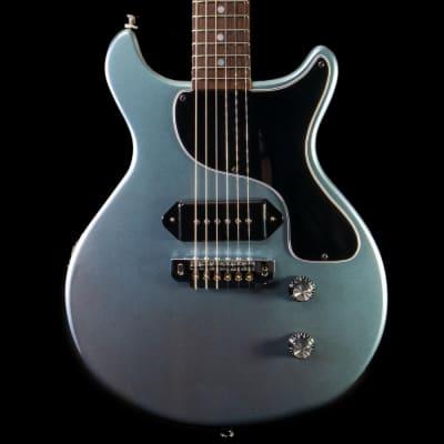 Feline Lion Cub DC Electric Guitar in Pelham Blue for sale
