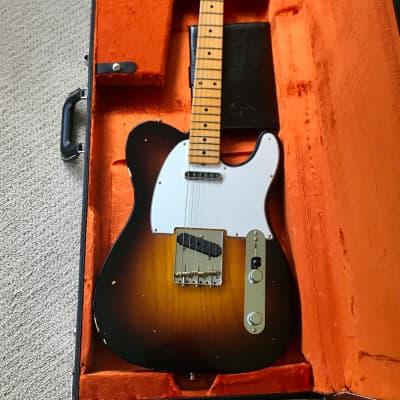 Fender Custom Shop Postmodern Telecaster Journeyman Relic - Wide Fade 2-Color Sunburst for sale