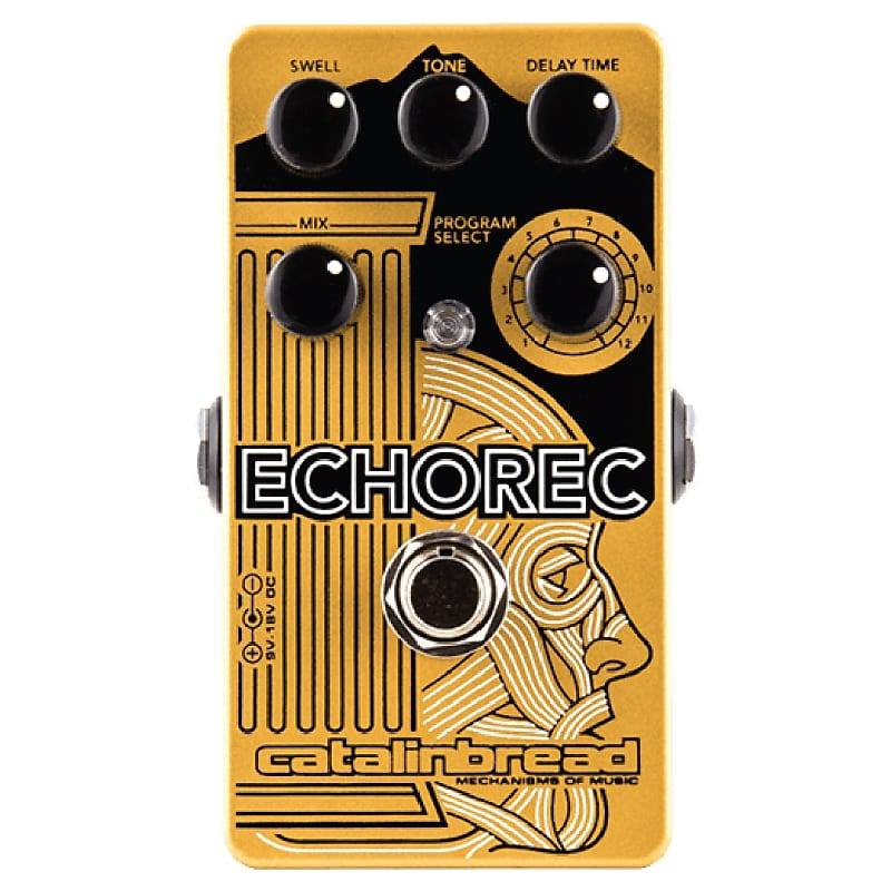 Catalinbread Echorec Multi-Tap Echo / Delay Effects Pedal