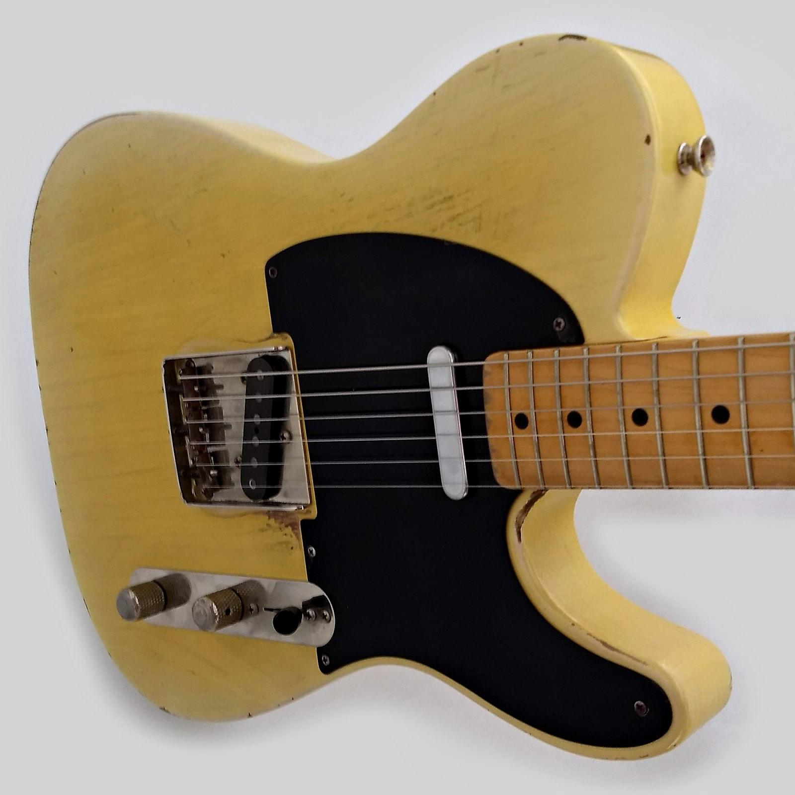 Jeff Senn Guitars -  Original Senn - Pomona - T-Style - Faded Yellow -Relic