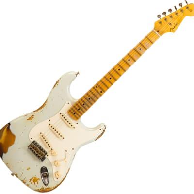 Fender Custom Shop 1965 Stratocaster #CZ545229 - Heavy Relic Sonic Blue Ov. Sunburst for sale