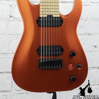 Jackson Pro Series Dinky DKA8M HT 8-String Satin Orange Blaze