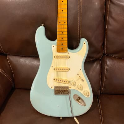 K-Line  Stratocaster Sonic Blue (pre Springfield) for sale