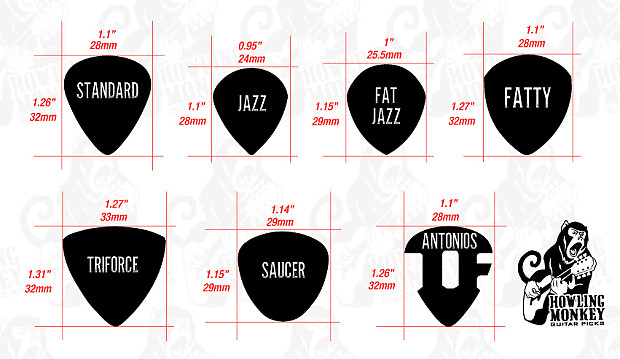 jazz iii size classic grip tagua guitar pick reverb. Black Bedroom Furniture Sets. Home Design Ideas