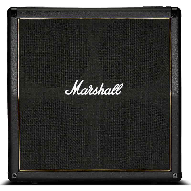 marshall mg412a gold guitar speaker cabinet 120 watts reverb. Black Bedroom Furniture Sets. Home Design Ideas