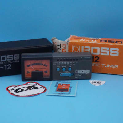Boss TU-12 Chromatic Tuner w/Original Box | Fast Shipping!