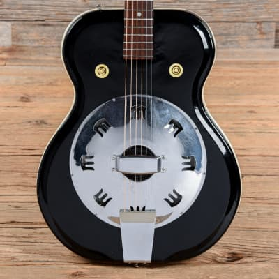 Airline Res-O-Glass Resonator Black 1960s for sale