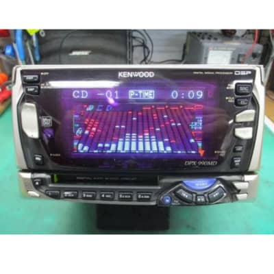 Kenwood Kenwood DPX-990MD CD MD Radio Deck Silver