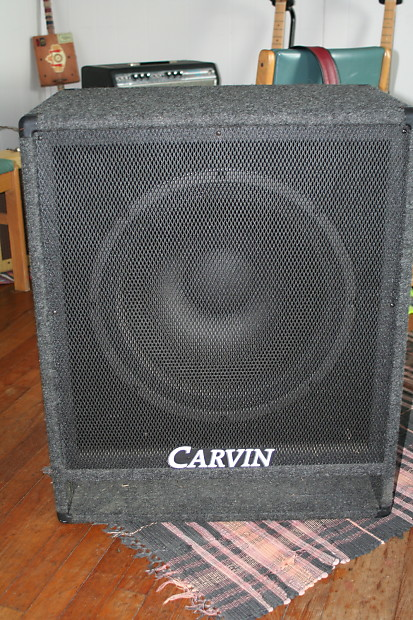 Carvin V118 1X18 ported Bass Cabinet 8 ohms | Reverb