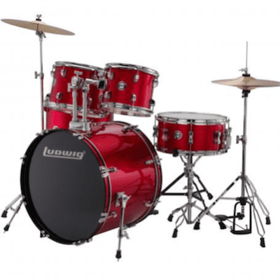 Ludwig Accent Fuse 10/12/14/20/14 Red