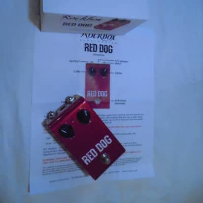 Rockbox Red Dog Overdrive - Red Llama Clone