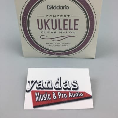 D'Addario EJ53C Pro-ArtУЉ Rectified Concert Ukulele Strings