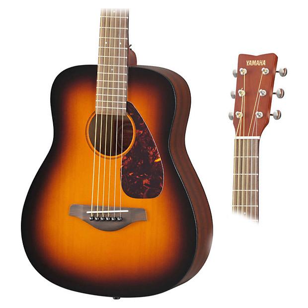 Yamaha jr2 tbs 3 4 scale mini folk acoustic bundle for Yamaha jr2 3 4