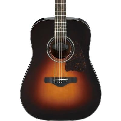 Ibanez AW4000 Artwood Dreadnought Acoustic Guitar - Brown Sunburst