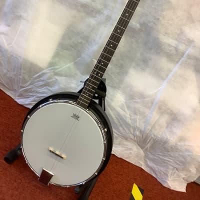 Ozark Tenor Banjo with Composite resonator Black/Brown for sale
