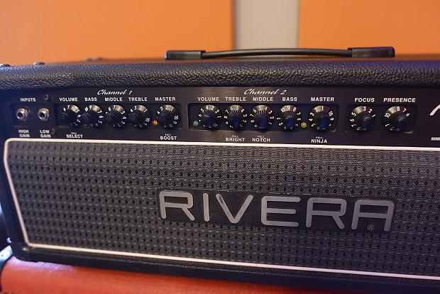Rivera Knuckle Head Hundred Duo Twelve 100 Watt Guitar | Reverb