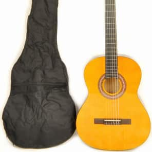 Omega Classical NA Left Handed Full Size Acoustic Nylon String Guitar for sale