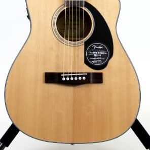 Fender CC-60SCE Acoustic-Electric Guitar - Natural for sale