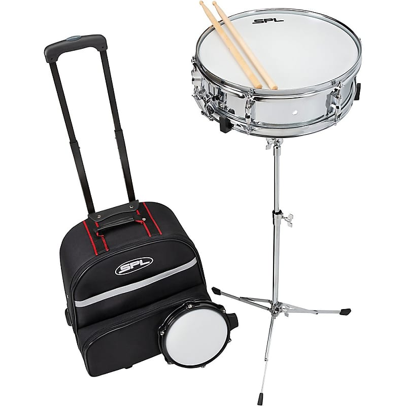 sound percussion labs snare drum kit with rolling bag reverb. Black Bedroom Furniture Sets. Home Design Ideas