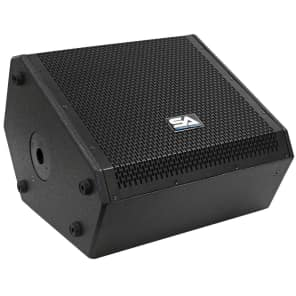 "Seismic Audio SAX-12M Compact Passive 1x12"" 250w 2-Way Titanium Horn Speaker"