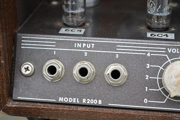 vintage 1950 39 s sound projects co r200b tube guitar reverb. Black Bedroom Furniture Sets. Home Design Ideas
