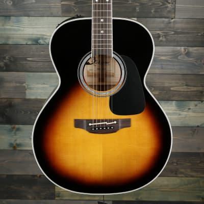 Takamine P6N BSB Pro Series 6 NEX Acoustic/Electric Guitar Brown Sunburst Gloss