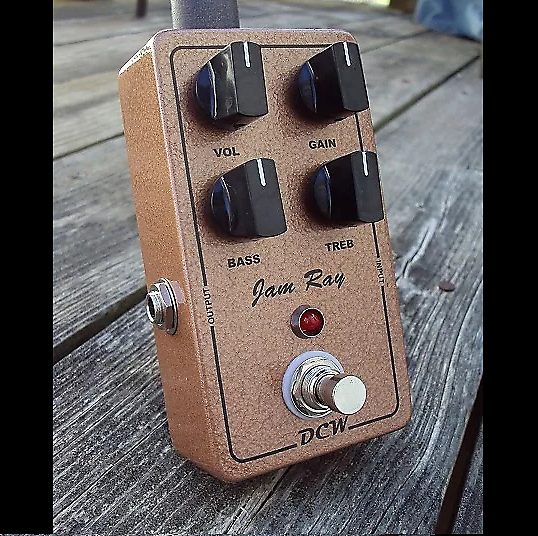 DCW Pedals JAM RAY -Jan Ray Clone | DCW Pedals