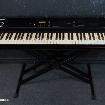 Ensoniq SQ-2 Digital Synthesizer  New Battery LED Slider!!! Ac Cord Included