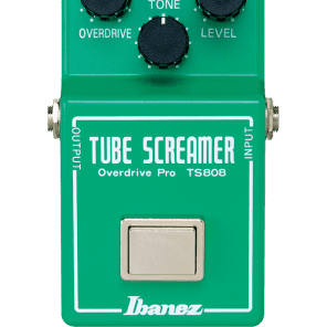Ibanez TS808 Tube Screamer Overdrive Pro Distortion Guitar Effects Pedal