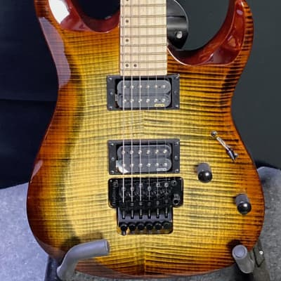 Cort X300 BRB Flame Brown Burst for sale