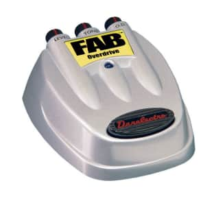 Danelectro FAB Overdrive D-2 Overdrive Electric Guitar Pedal NEW