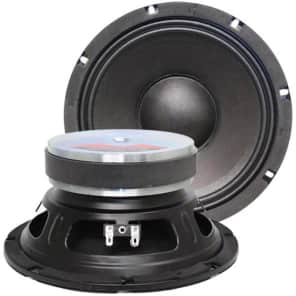 "Seismic Audio Jolt-8PAIR 8"" 175w 8 Ohm Bass Cab Replacement Woofer Speakers (Pair)"