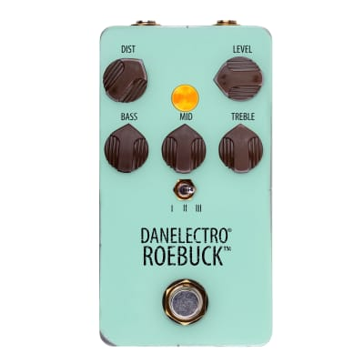 Danelectro Roebuck Distortion (Recreation of 1990's Ibanez Mostortion) - New for 2020, In Stock Now
