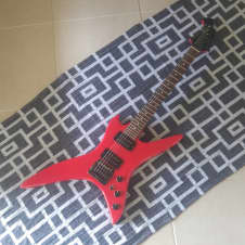 B.C. Rich Stealth - NJ Series - Made in Japan - 1984 - Red