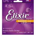 Elixir Acoustic 80/20 Bronze with NANOWEB Coating - 12-String Light