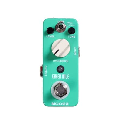 Mooer Green Mile Overdrive Pedal for sale