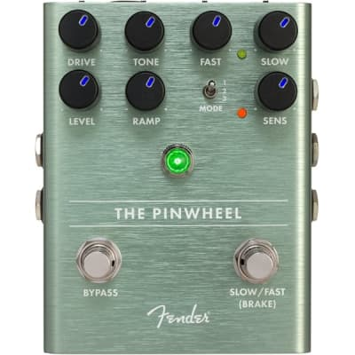 Fender The Pinwheel Rotary Speaker Emulator Effect Pedal for sale