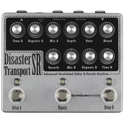 Earthquaker Devices Disaster Transport SR Advanced Modulated Delay & Reverb for sale