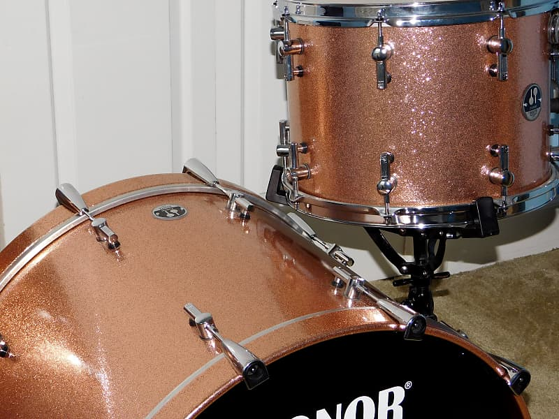 Sonor Delite 3 Piece Drum Kit Big Sizes 24 18 14 Reverb