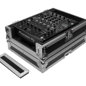 "Odyssey FZ12MIXXD Flight Zone Universal 12"" DJ Mixer Case with Extra Deep Cable Space"