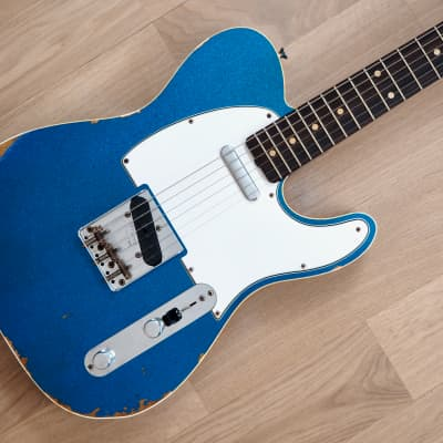 2020 Fender Custom Shop NAMM Limited '61 Telecaster Custom Blue Sparkle Relic Near Mint w/ Case, COA
