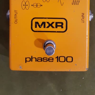 MXR Phase 100 Block 1977 Orange with packaging