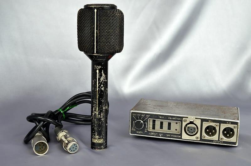 Sanken CMS-7 MS Stereo Condenser Microphone Set S/N 3074